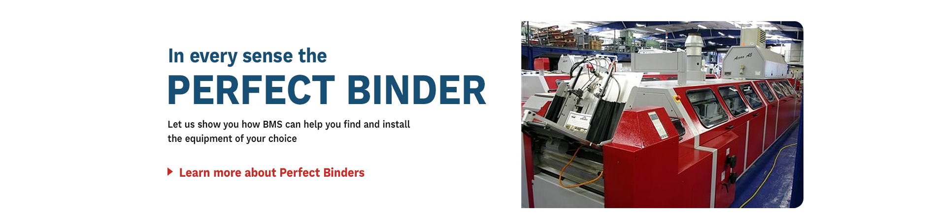 In Every Sense the Perfect Binder