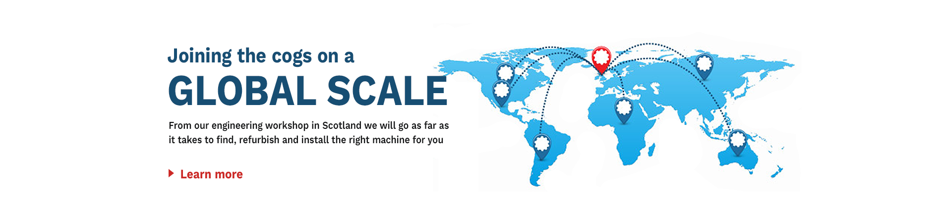Joining the Cogs on a Global Scale